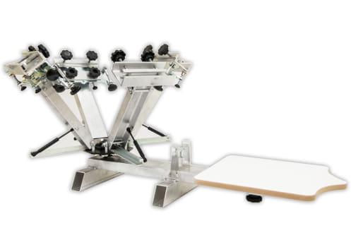 Zaktualizowano Alu LG6X1 wielokolorowa ręczna maszyna do sitodruku EMBPRO.PL DI85